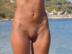 Nude female with a perfect body