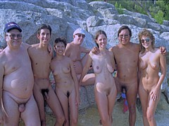 Private Family nudism album